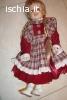 Bambola antica di porcellana