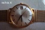 Omega orologgio in oro da uomo