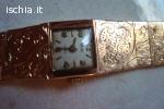 Vendo Antico orologgio in oro18Kt WONDER